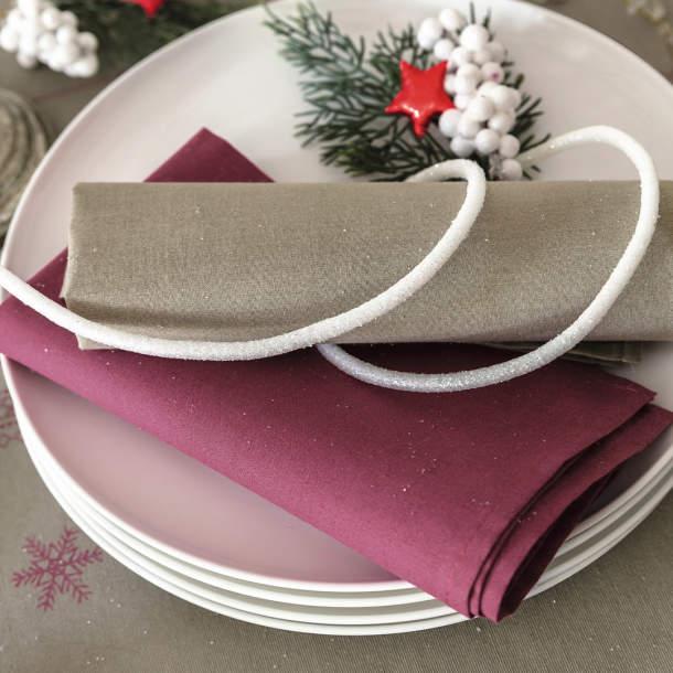 Serviette de table - Jour de Noël