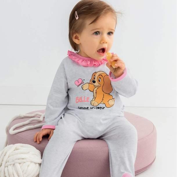 Pyjama fille - La belle et le clochard