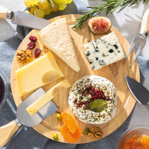 Plateau fromage + 4 couteaux - Le goût des saveurs
