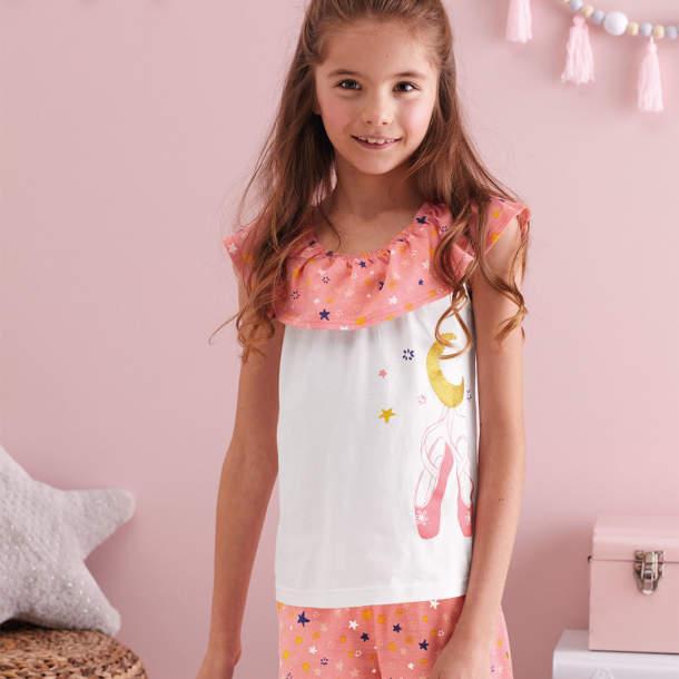 Pyjama court enfant - Les étoiles de Lola