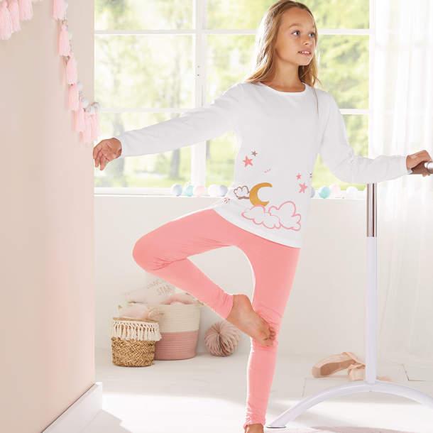 Pyjama long enfant - Les étoiles de Lola
