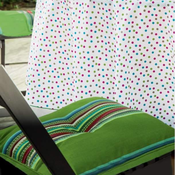 2 Coussins de chaise - Lundi au soleil