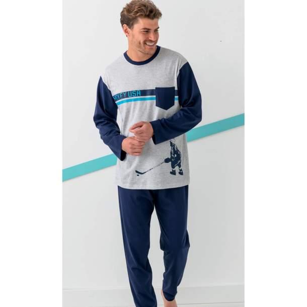 Pyjama - Match sur glace