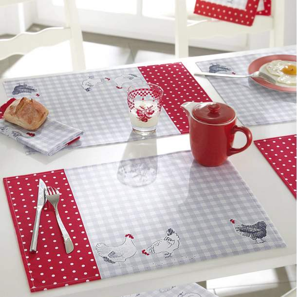 2 Sets de table - Mes cocottes