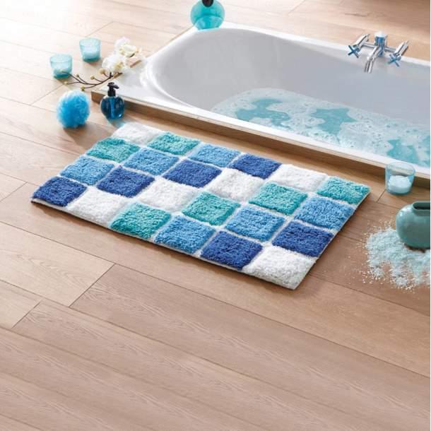Tapis de bain - Mosaïque
