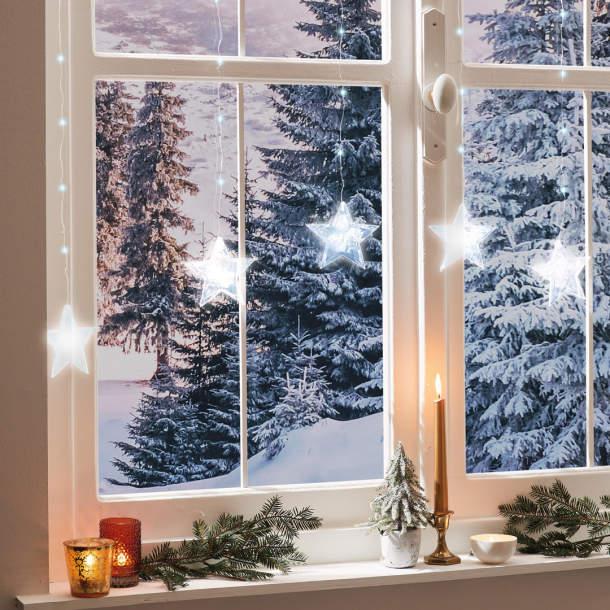 Rideau led - Noël polaire