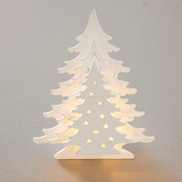Sapin lumineux - Noël polaire