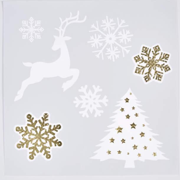 Stickers de fenêtre - Noël polaire