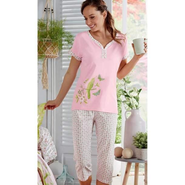 Pyjama - Papillons et colibris