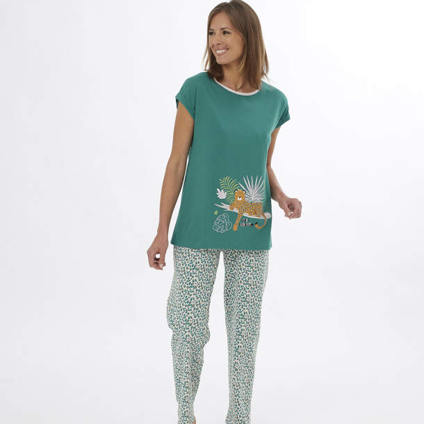 Pyjama - Passion léopard