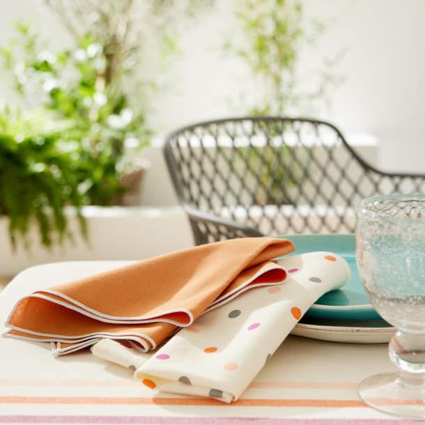 Serviette de table - Pause estivale