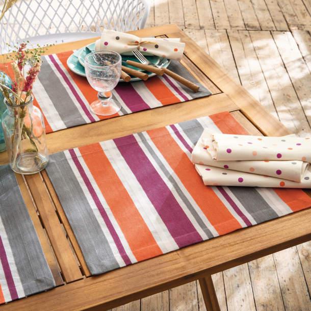 Set de table - Pause estivale
