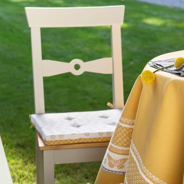 2 Galettes de chaise - Pollen et Papillons