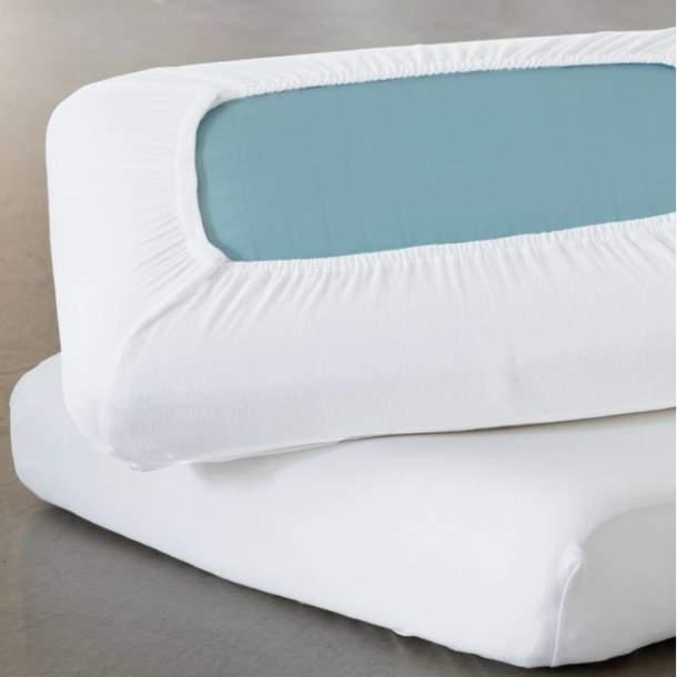 2 Protège-oreillers ergonomiques - Jersey Elasthanne