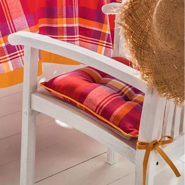 2 Coussins de chaise - Saveurs Créoles