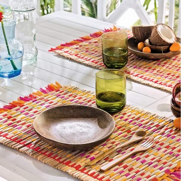 2 Sets de table - Saveurs Créoles