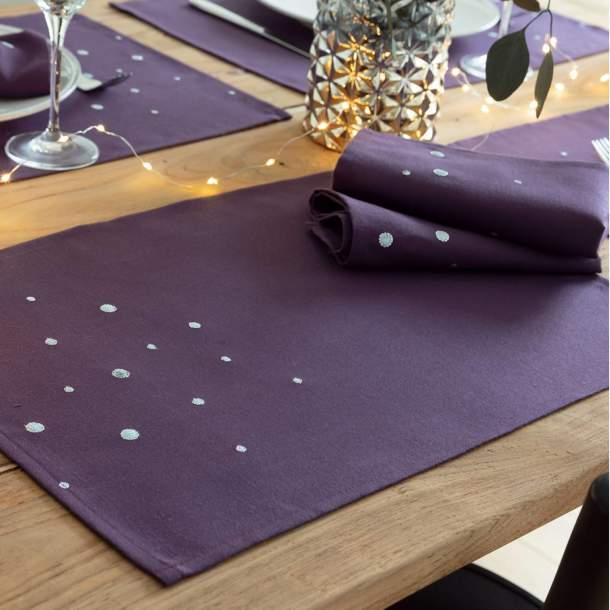2 sets de table - Scintillement