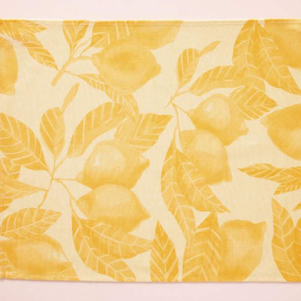 Torchons et Essuie-mains - Sensation citronnée