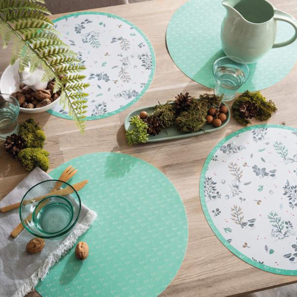 Sets de table - Sous bois