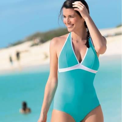 Tunique de plage, maillot de bain