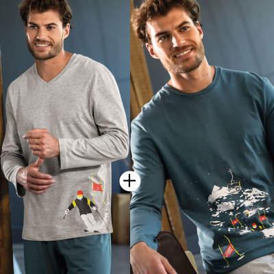 Pyjama long homme
