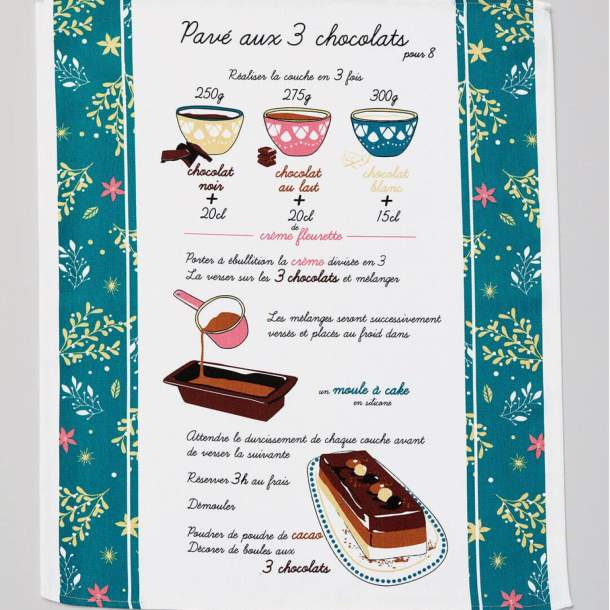 3 Torchons - Tout chocolat