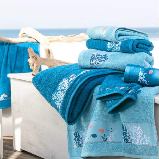 2 Gants de toilette - Trésor des mers