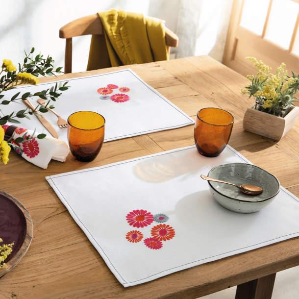 Sets de table - Un matin au jardin