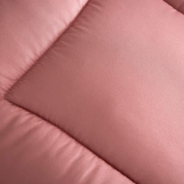 Édredon rose poudré - Veloutine