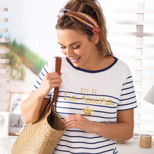 T-shirt - Vue de la Riviera