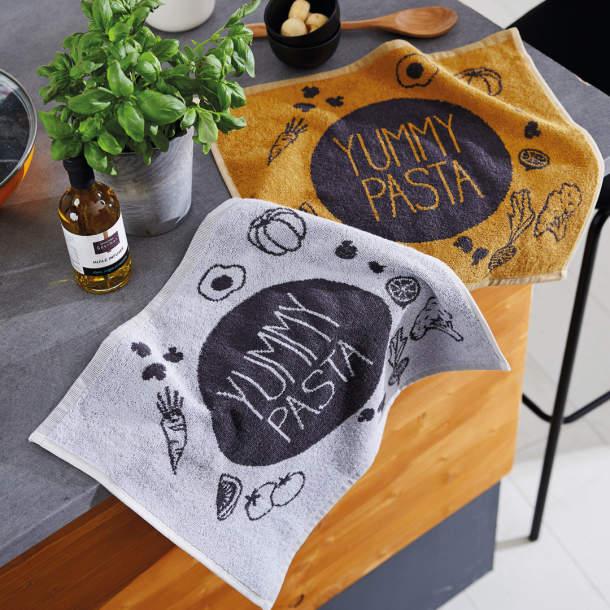 2 Essuie-mains - Yummy pasta